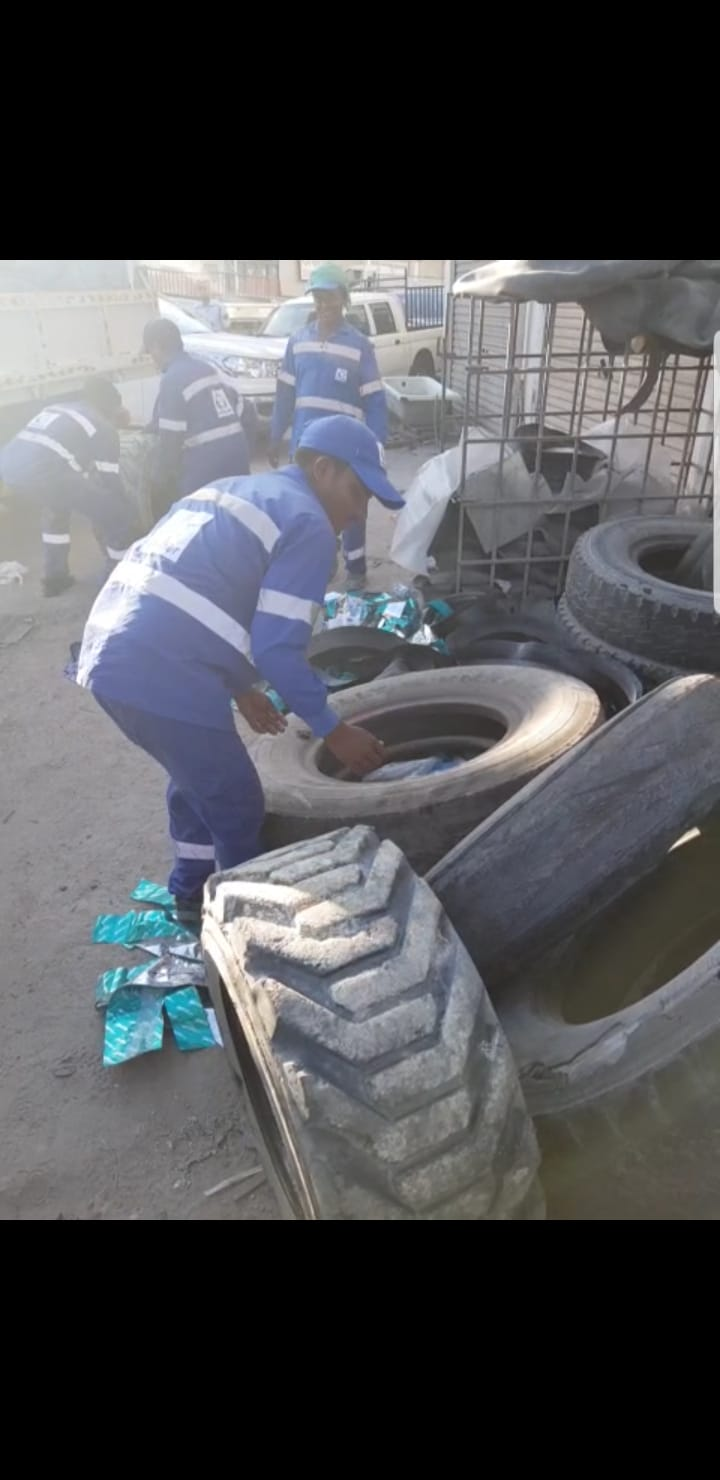 "Municipality ""South"" removes road occupations in Nuwaidrat Block 646"