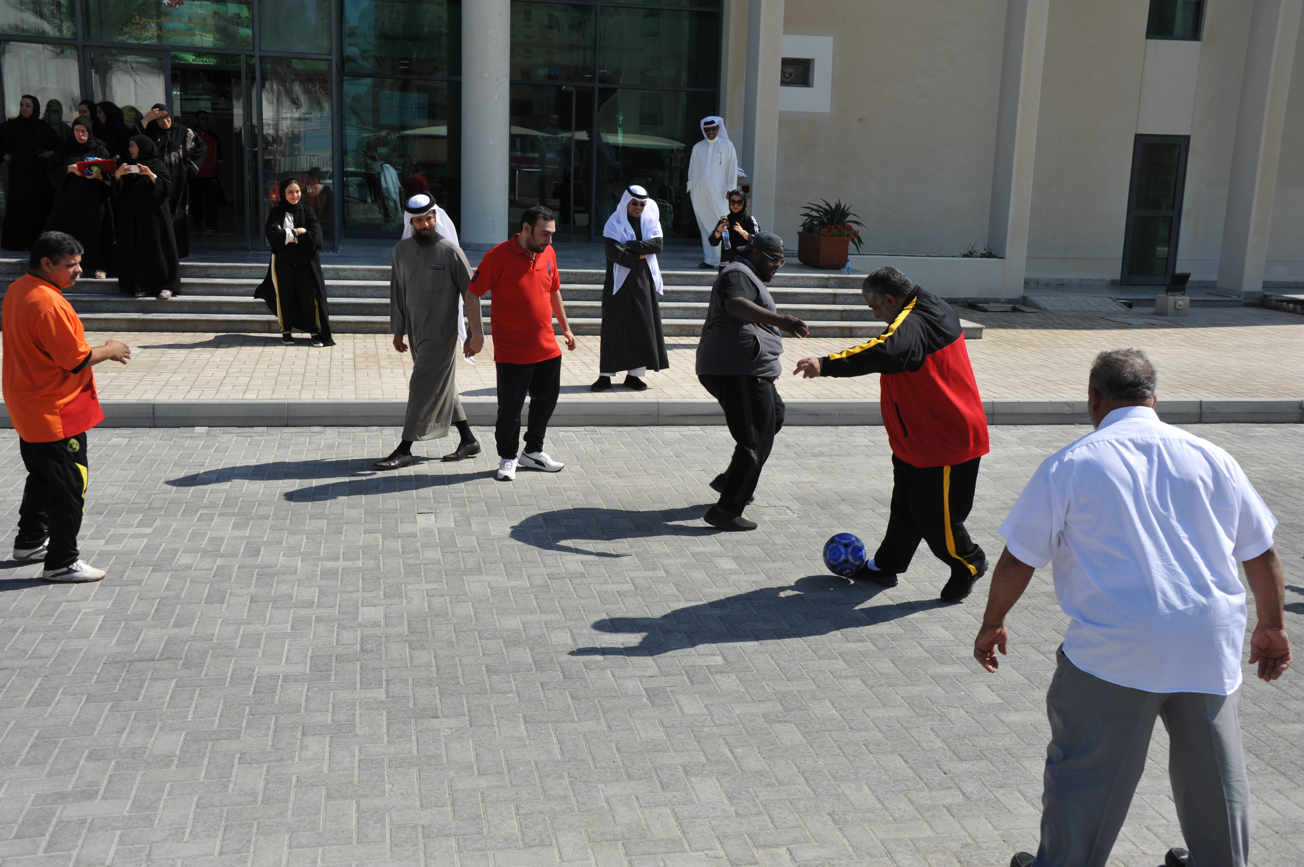Muharraq municipality participates in the National Sports Day